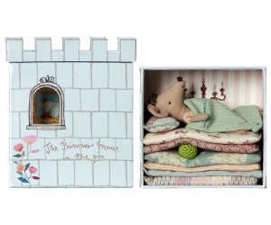 Maileg - Princess and the Pea play set